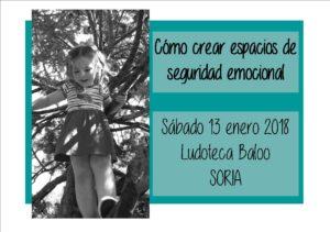 Taller: Cómo crear espacios de seguridad emocional @ Ludoteca pedagógica Baloo